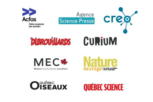 Partenaires d'accueil et de diffusion de la BFS 2021